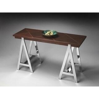 Butler Nickel Console Table