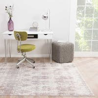"Celestia Trellis Brown/ Purple Area Rug (7'8"" X 10') - 7'10"" x 9'10"""