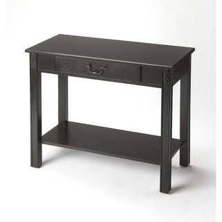 Butler Sheridan Black Licorice Console Table