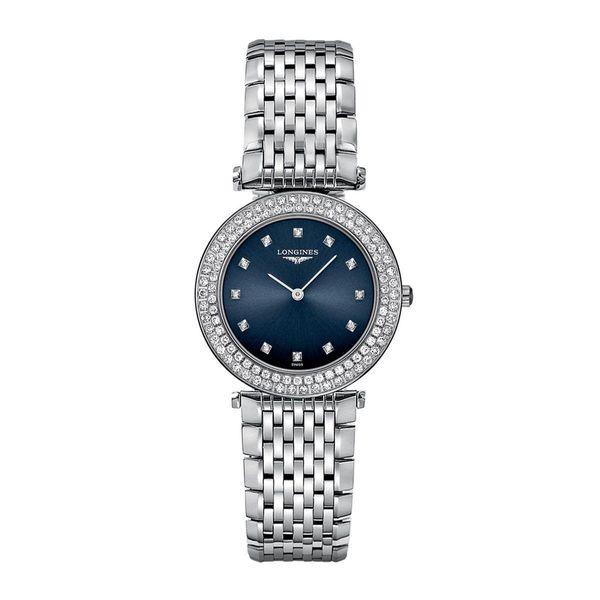 Longines Women's L43080976 'La Grandes Classiques Flagship' Diamond Stainless Steel Watch. Opens flyout.