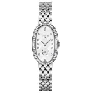 Longines Women's L23060876 'Symphonette' Diamond Stainless Steel Watch