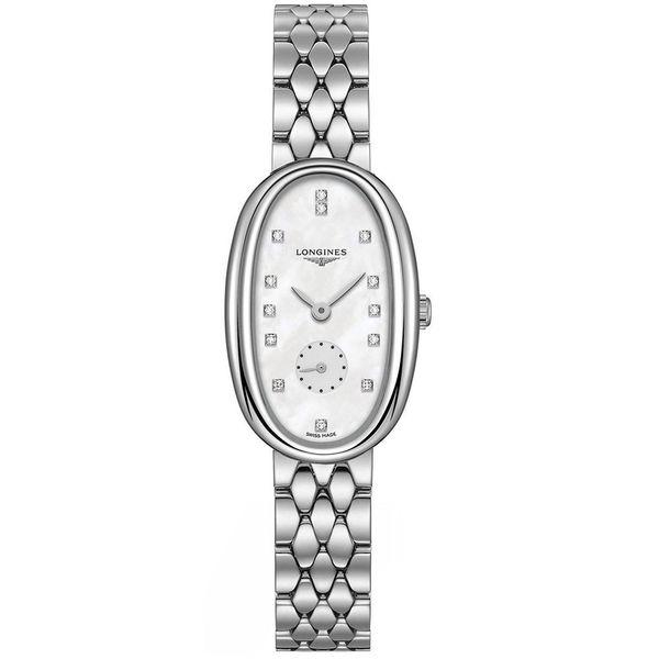 Longines Women's L23064876 'Symphonette' Diamond Stainless Steel Watch. Opens flyout.