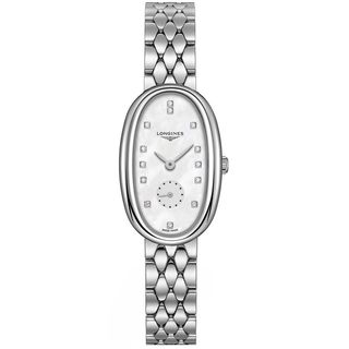 Longines Women's L23064876 'Symphonette' Diamond Stainless Steel Watch