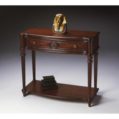 Butler Peyton Plantation Cherry Console Table