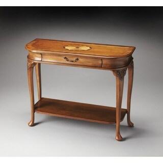 Butler Ridgeland Olive Ash Burl Console Table