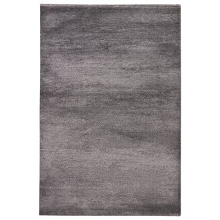 """London Solid Gray Area Rug (5'3"""" X 7'6"""")"""