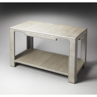 Butler Ricci Leather Console Table