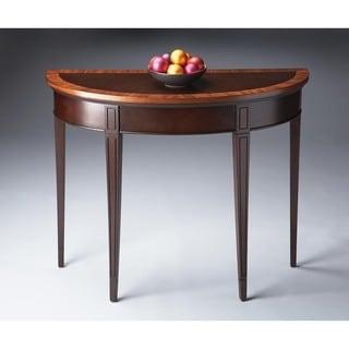 Butler Hampton Cherry Nouveau Demilune Console Table