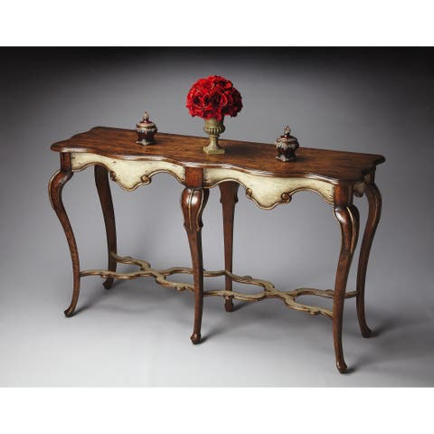 Butler Wentworth Appaloosa Console Table