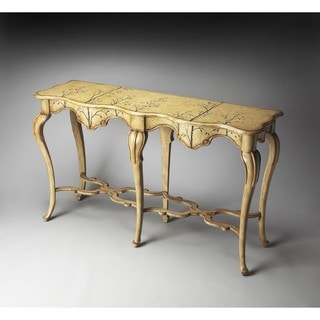 Butler Wentworth Winter Forest Painted Console Table