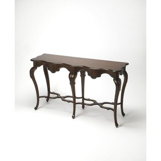 Butler Wentworth Plantation Cherry Console Table