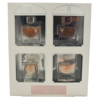 Lancome La vie Est Belle Women's 4-piece Mini Gift Set