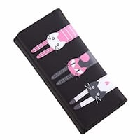 Cute Cat Wallet Wristlet Coin Card Holder