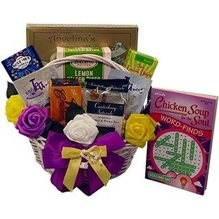 'Get Well Soon' Gourmet Food Gift Basket - get-well-gift-basket