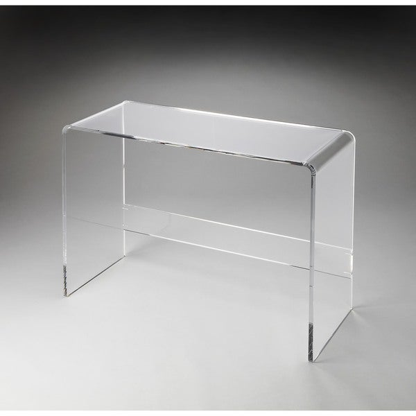 butler crystal clear acrylic console table ikea australia uk