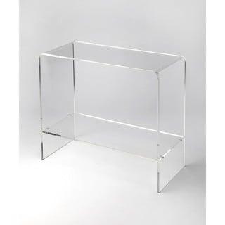 Butler Crystal Clear Acrylic Console Table