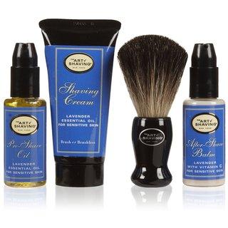 The Art of Shaving Lavender The 4 Elements Starter Set
