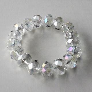 Clear AB Crystal Bracelet