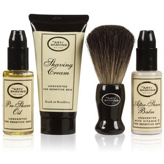 The Art of Shaving Unscented The 4 Elements Starter Set