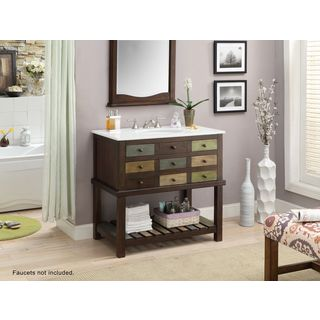 Three Drawer Vanity Sink