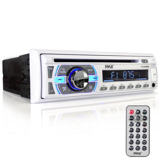 Pyle PLCD43MRB Wireless Bluetooth CD/MP3 Playback, USB/SD Aux Detachable Face In-dash Stereo Radio Head Unit Receiver