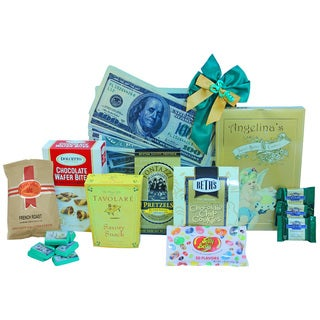 Discontinued~Thanks A Million- Thank You Gourmet Food and Snack Gift Basket