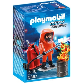 Playmobil City Action Special Forces Firefighter Playset