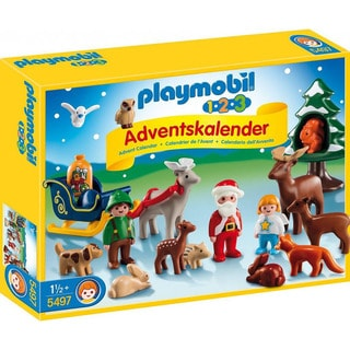 Playmobil 123 Adventskalender Christmas in the Forest Playset