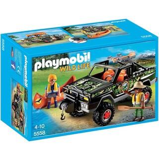 Playmobil Wild Life Adventure Pickup Truck