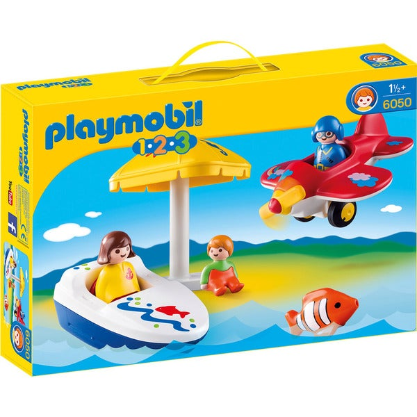 Playmobil 123 6050 Fun in the Sun Play Set for Ages 18+ Months