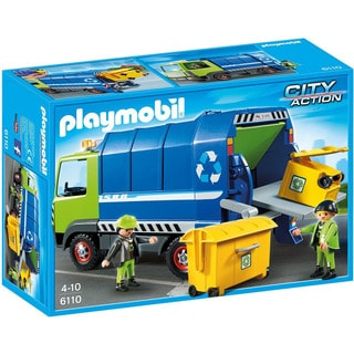 Playmobil City Action Recycling Truck Playset For Kids