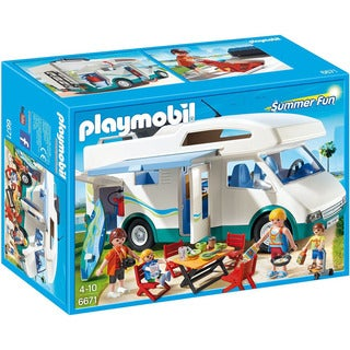 Playmobil Multicolor Summer Fun Summer Camper Play Set