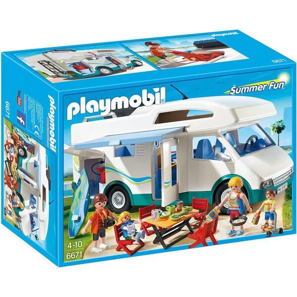 Playmobil Multicolor Summer Fun Summer Camper Play Set