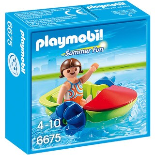 Playmobil 6675 Summer Fun for Kids 4-to-10 Children's Paddle Boat