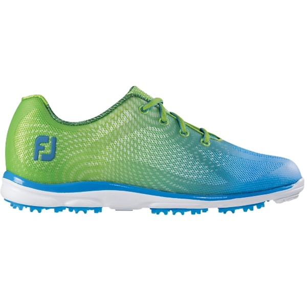 FootJoy EmPower Golf Shoes 2015 Ladies Lime/Blue