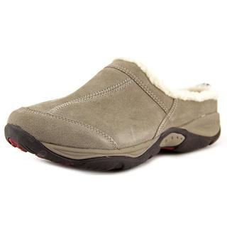 Easy Spirit Women's Elysse Regular Grey Suede Casual Shoes