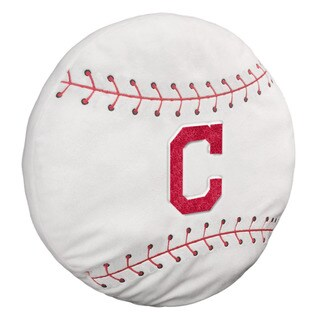 The Northwest Company MLB 199 Indians 3-D Sports Pillow