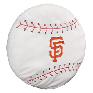 The Northwest Company Polyester San Francisco Giants 3D Baseball Pillow