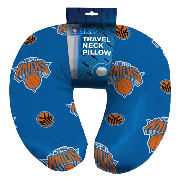 NBA 117 Knicks Neck Pillow