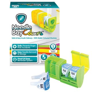 NeedleBay Colours 2 Diabetes Medication System