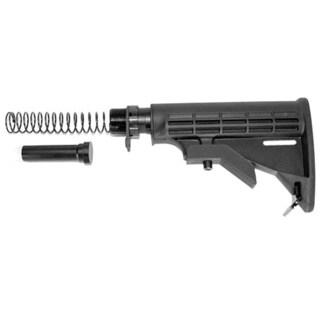 Rifle Black Six Position Mil-spec Butt Stock Kit