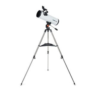 Celestron Cometron 114AZ White Metal and Glass Telescope