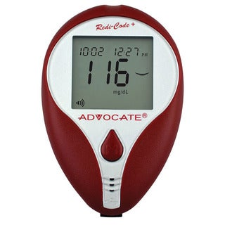 Advocate Redi-Code Plus English/Spanish Speaking Blood Glucose Meter