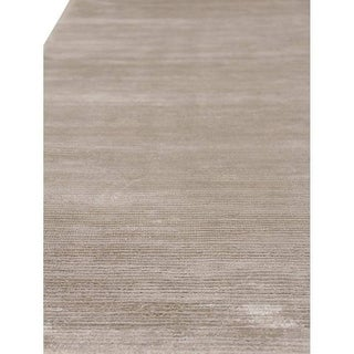Exquisite Rugs Swell Silver Viscose Rug (6' x 9')