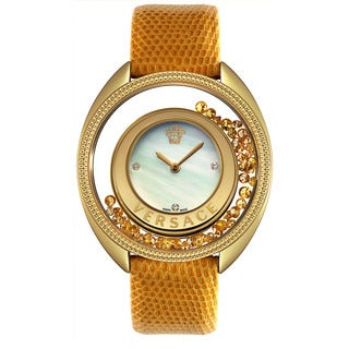 Versace Women's Destiny Spirit Mother Of Pearl Watch