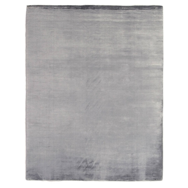 Exquisite Rugs Swell Blue Viscose Rug (4' x 6')