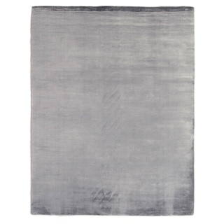 Exquisite Rugs Swell Blue Viscose Handmade Rug (4' x 6')