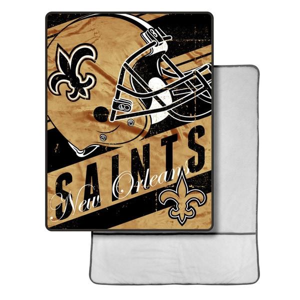 NFL 113 Saints Foot Pocket Throw