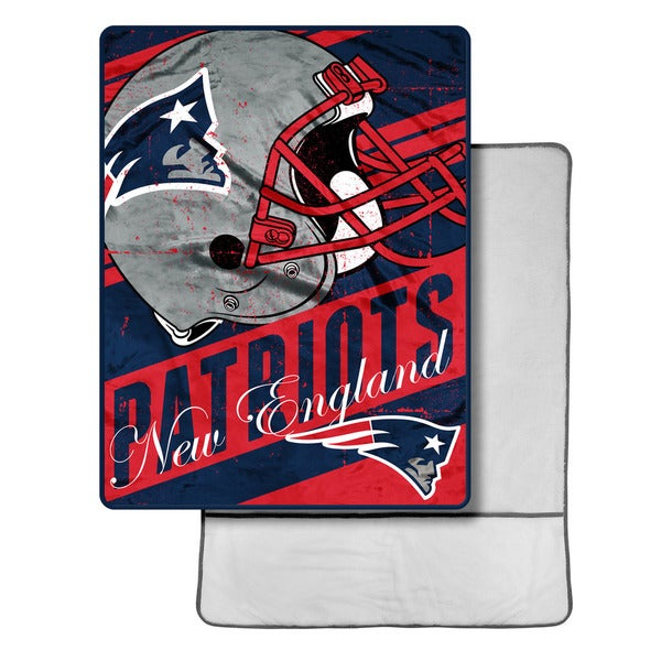 The Northwest Company NFL New England Patriots Foot Pocket Throw