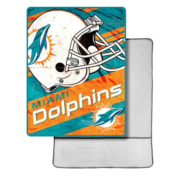 NFL 113 Miami Dolphins Foot Pocket Throw